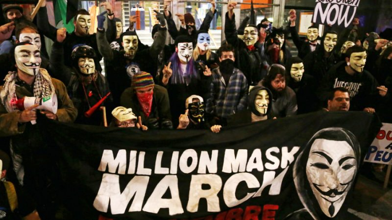 Anonymous is ready for the Million Mask March of 2019