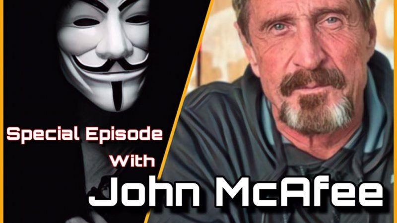 Anonymous Bites Back meets John McAfee on air!