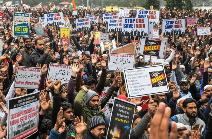 We will not show the papers: India united for freedom in a free country