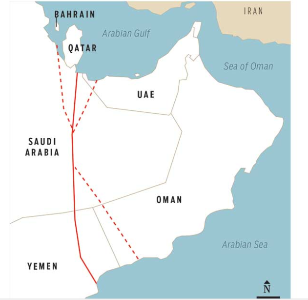 Saudi Arabia Planned To Build A 590-Mile long Canal Through Yemen Just Before Invading Yemen