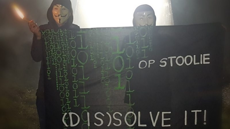 #OpStoolie targets police scandal in Northern Germany