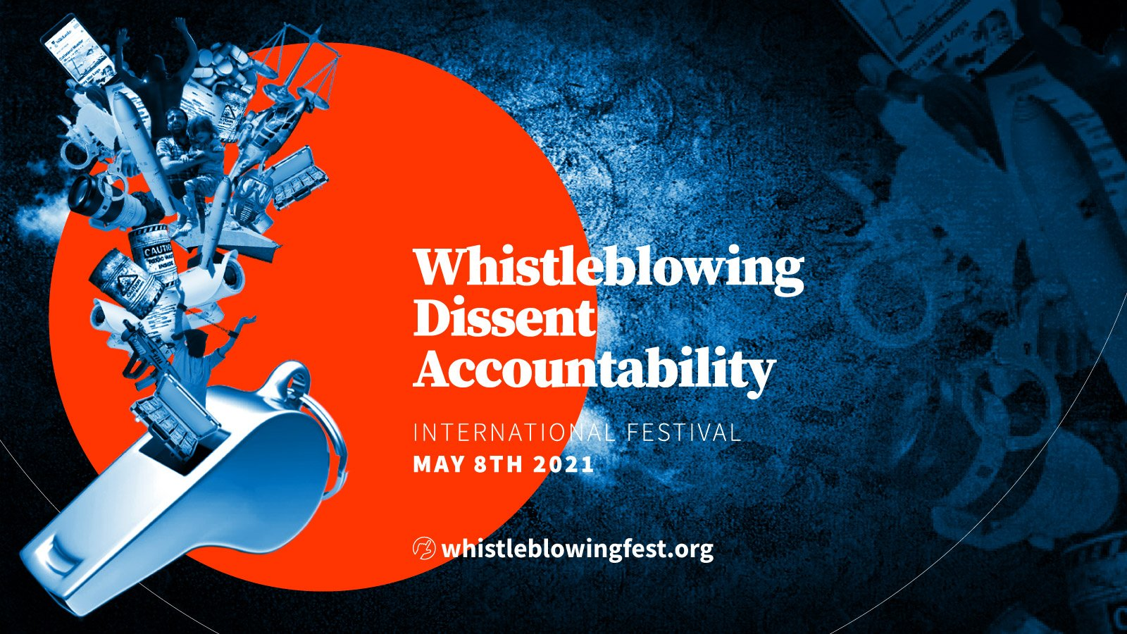 Attend the International Festival of Whistleblowing, Dissent and Accountability this weekend (May 8)