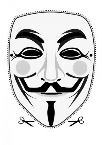 Guy Fawkes Mask (Type 2)