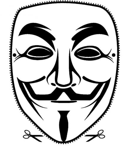 Guy Fawkes Mask (Type 3)